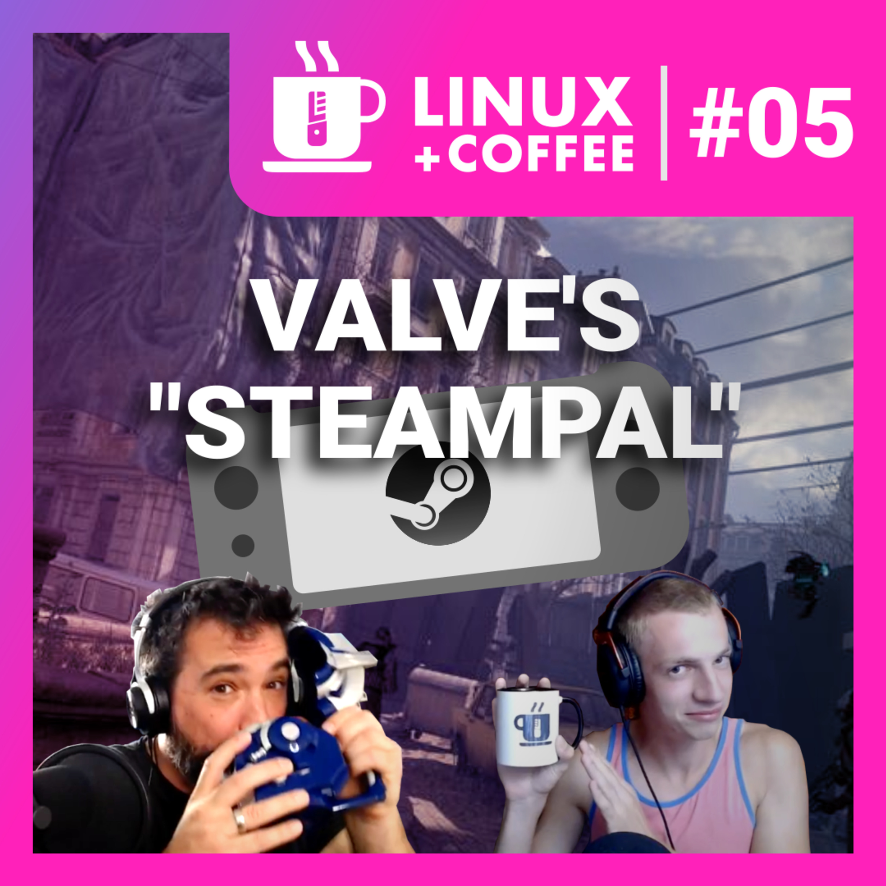 Linux + Coffee #5: elementary OS + Valve's SteamPal