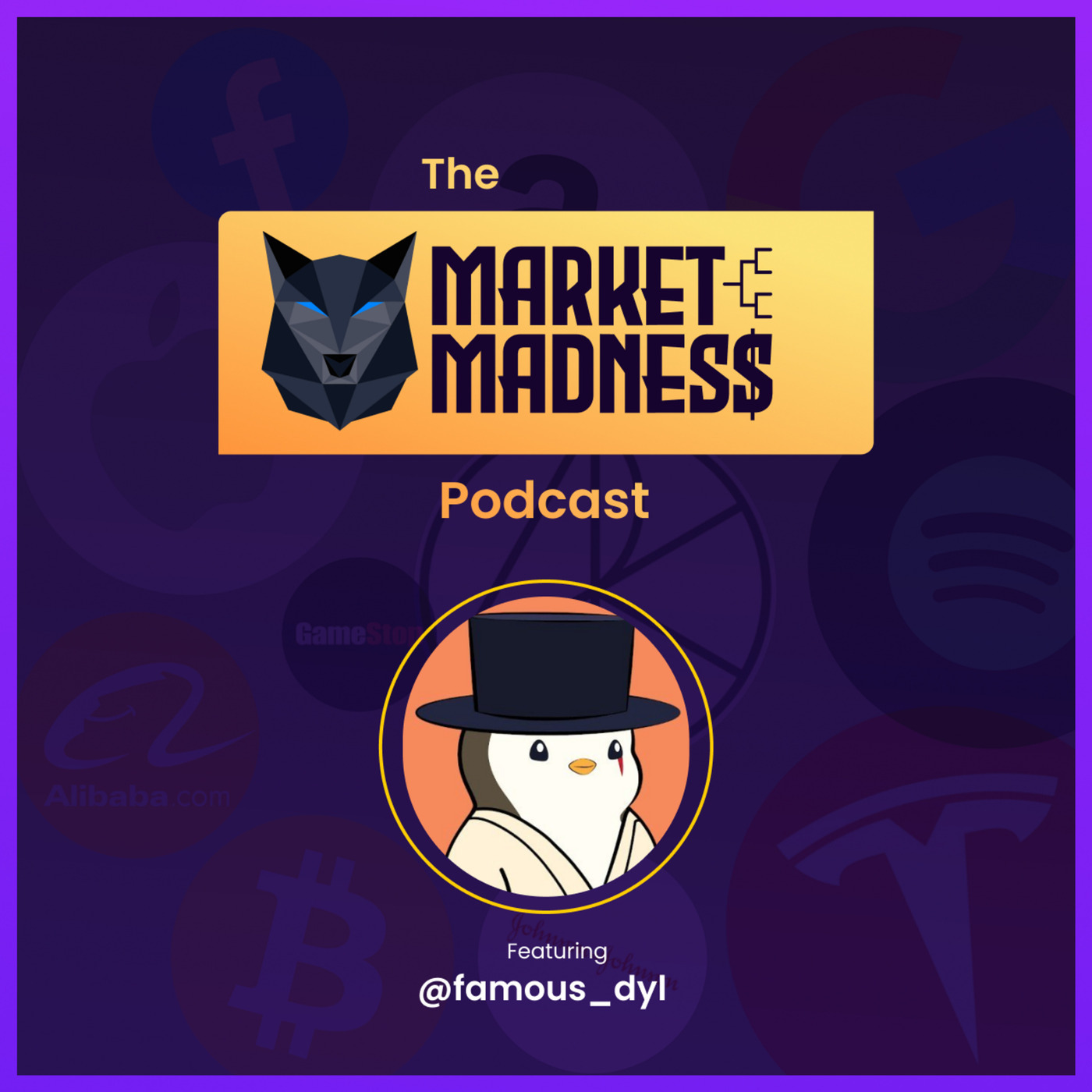 The Market Madness Podcast: Jordan Belfort, Crypto, & NFT's with Dyl