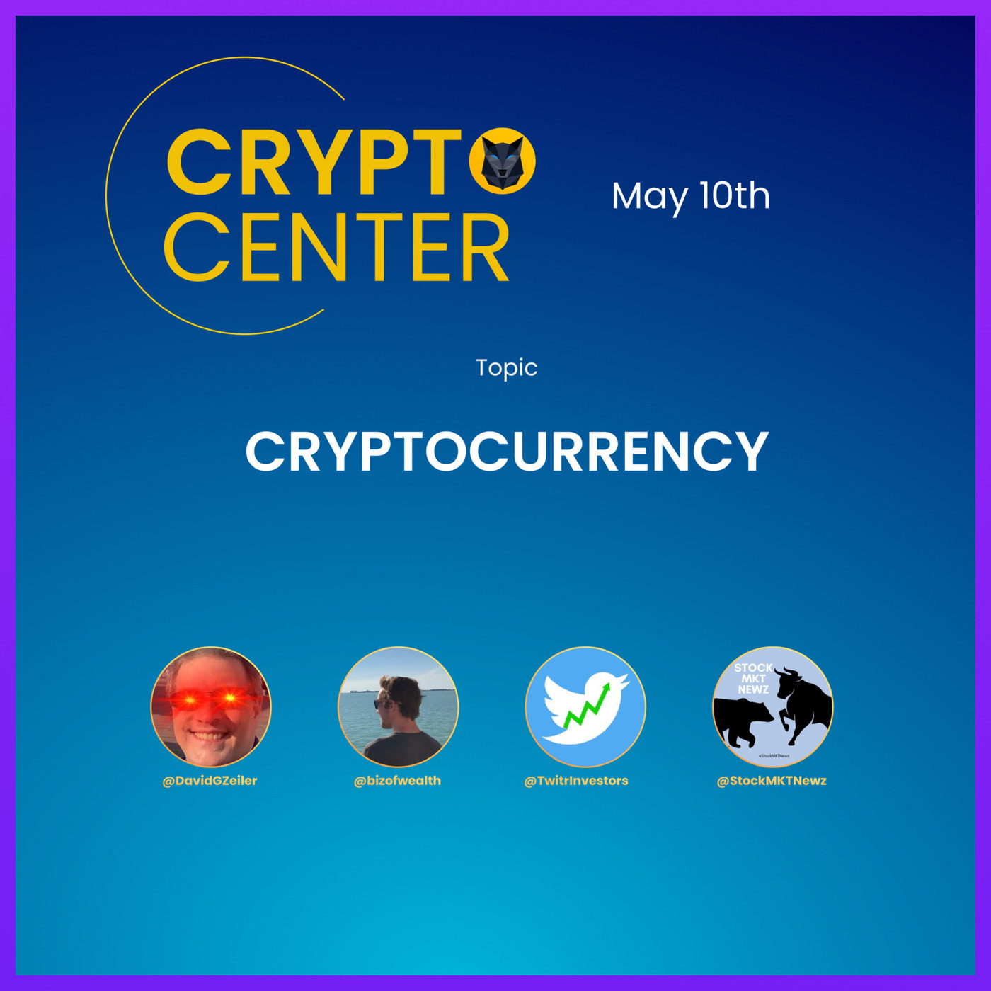 The Market Madness Podcast: Crypto Center - Twitter Space - 5.10.21