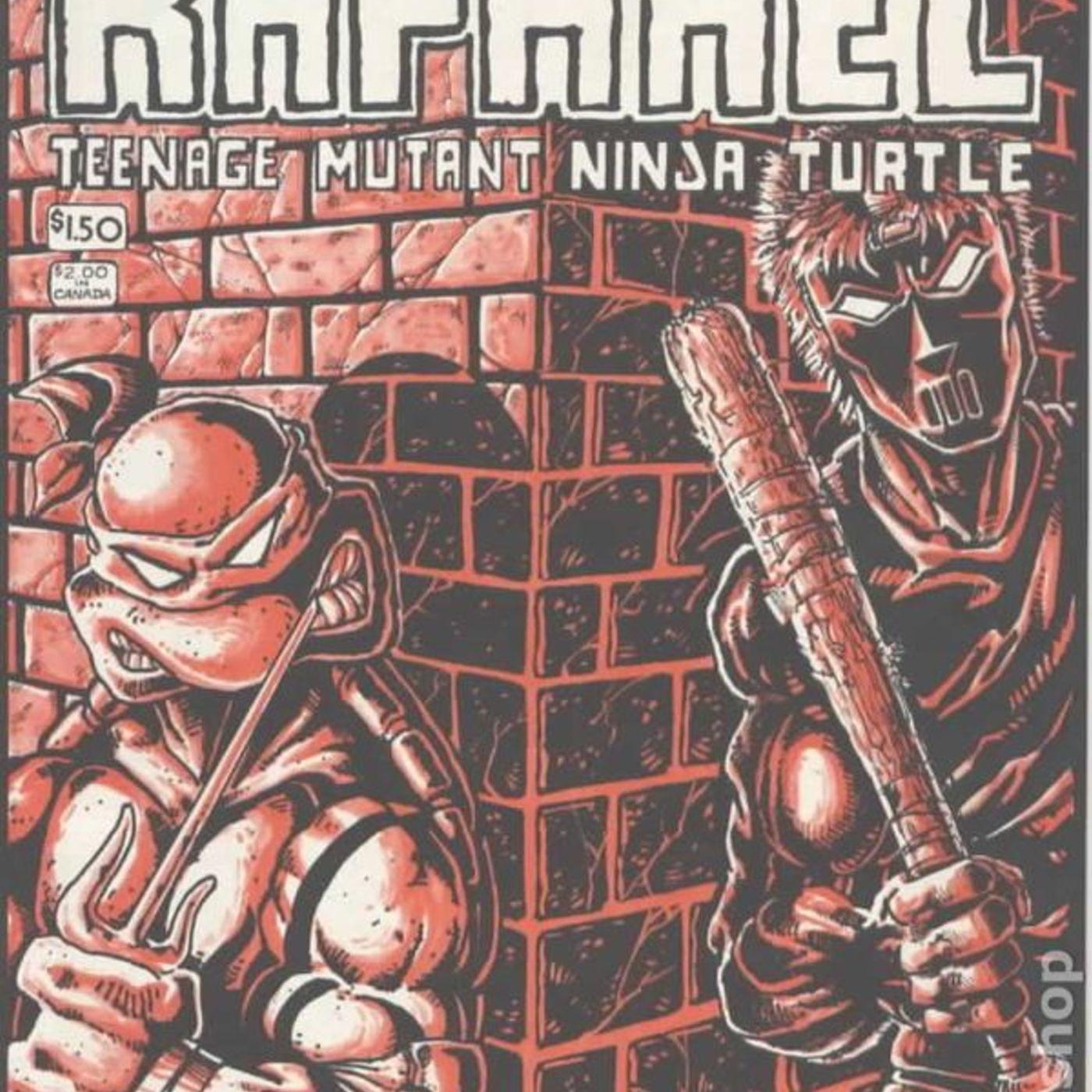 Comic Book Rundown 419: Raphael - Teenage Mutant Ninja Turtles Micro Series #1