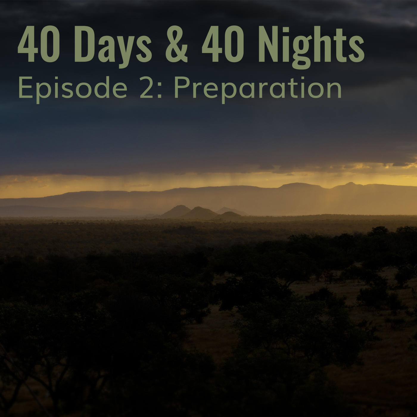 Track Your Life with Boyd Varty 2-preparation: 40 Days & 40 Nights Preparation