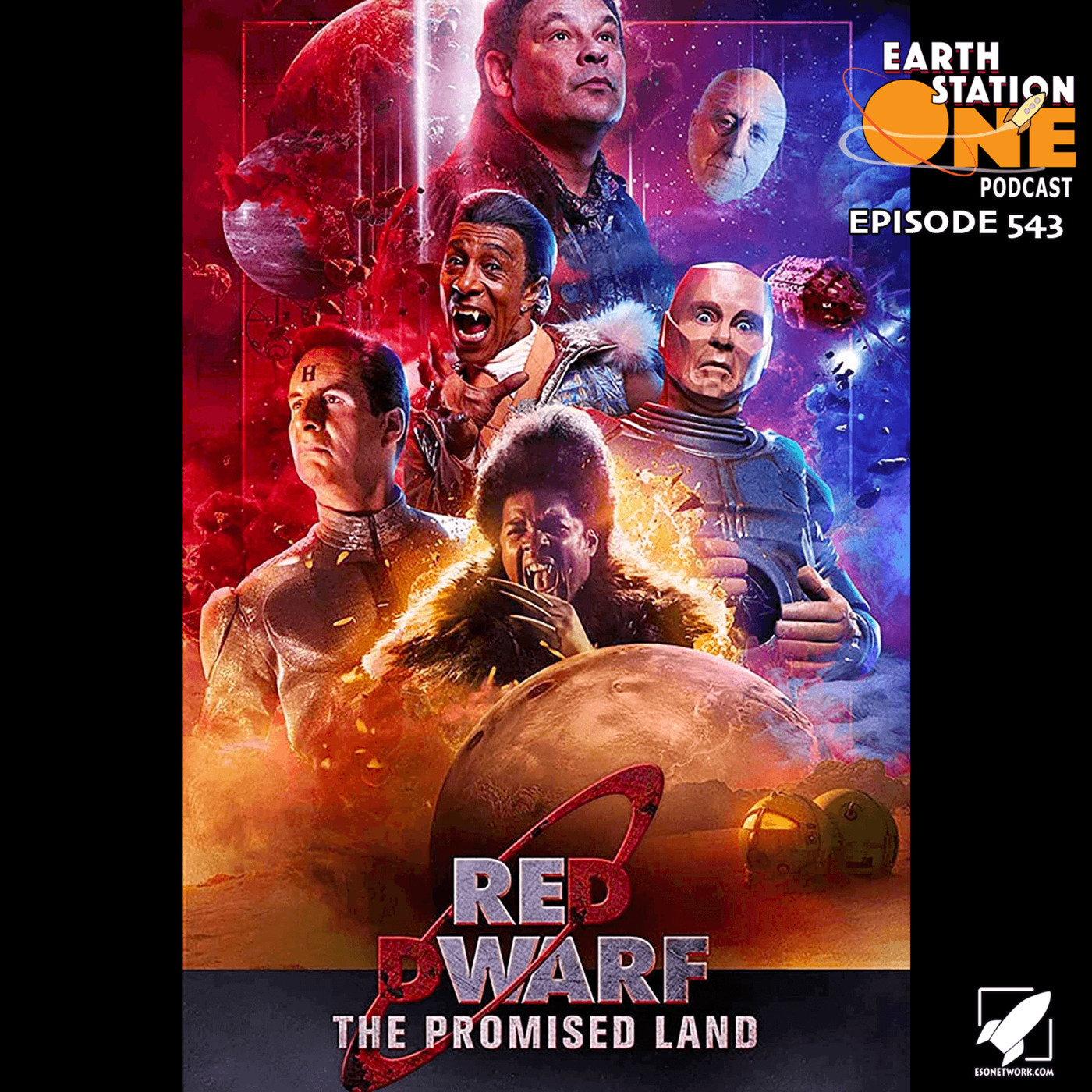 The Earth Station One Podcast reddwarfpromisedland: The Earth Station One Podcast – Red Dwarf  The Promised Land