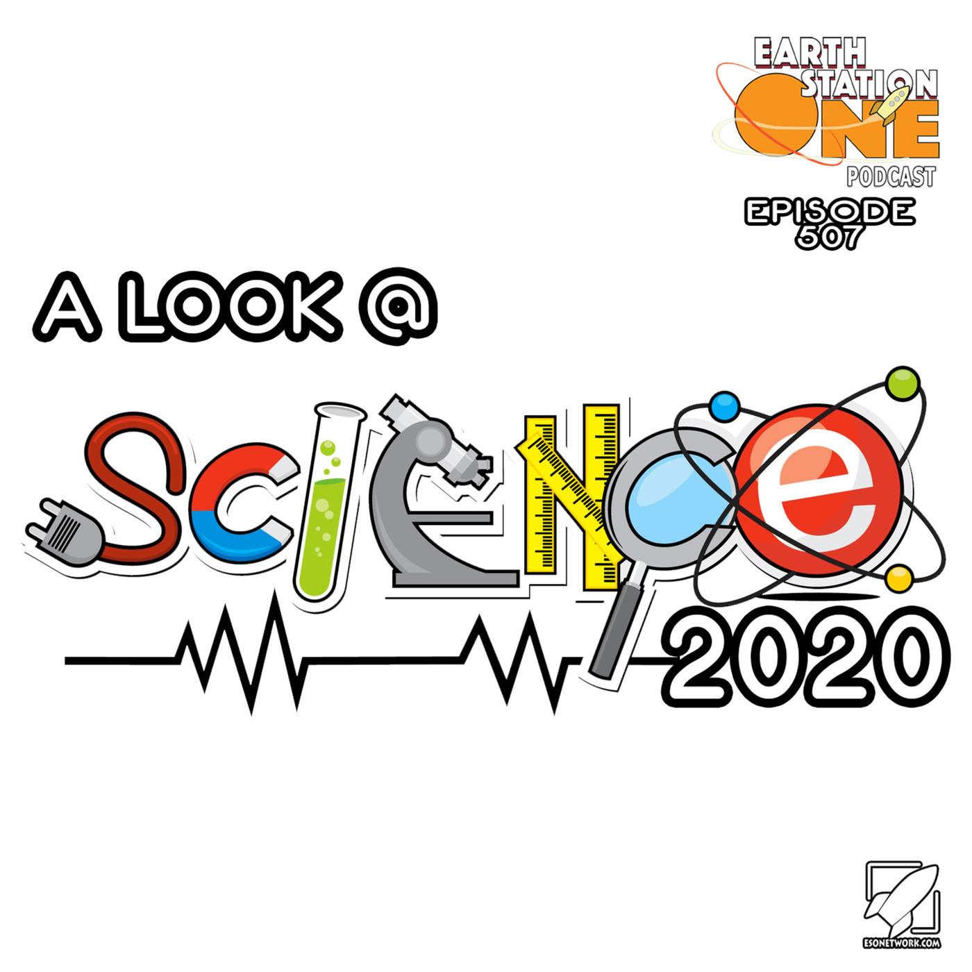 The Earth Station One Podcast alookatscience2020: The Earth Station One Podcast – A Look At Science 2020
