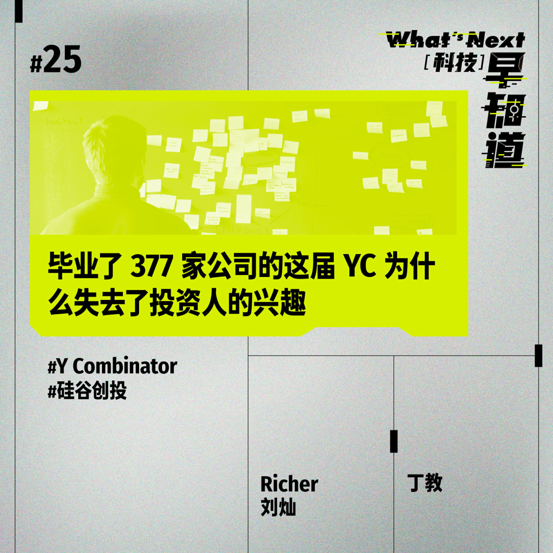 S5E25|毕业了 377 家公司的这届 YC 为什么失去了投资人的兴趣
