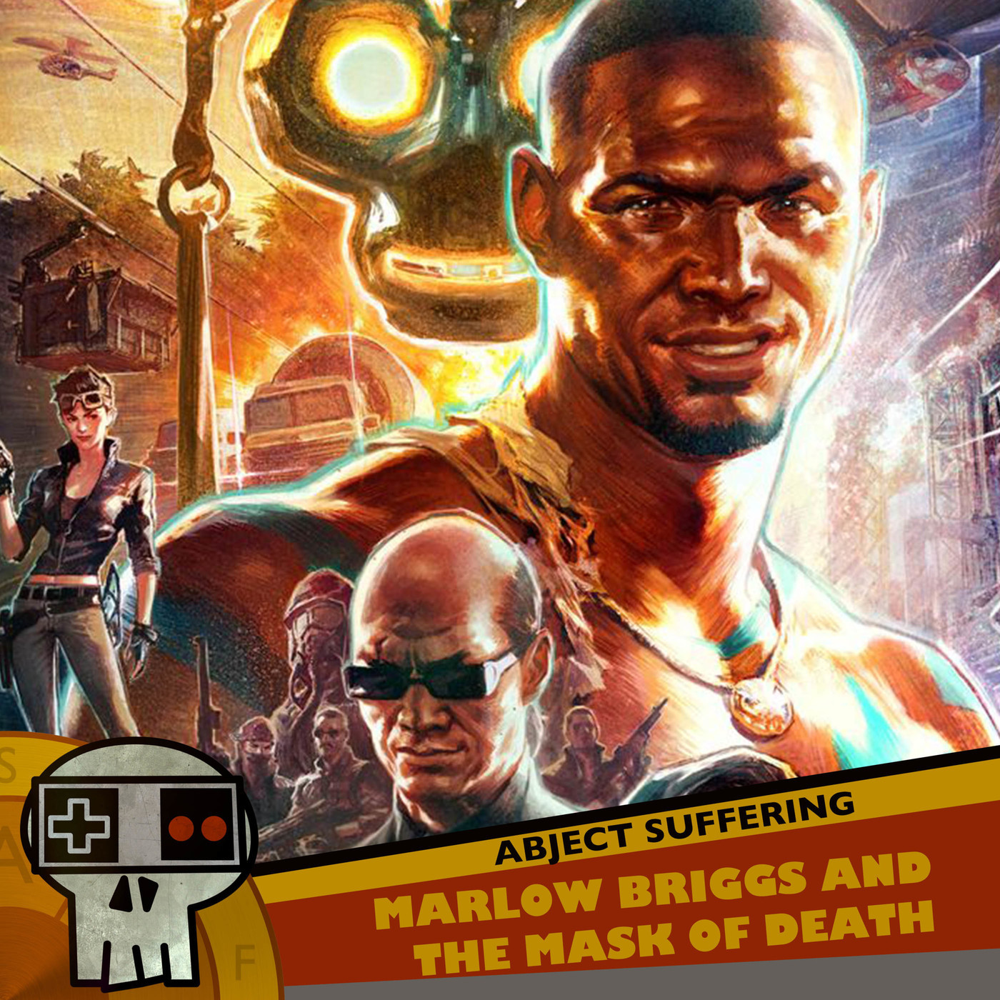 Abject Suffering 398: Marlow Briggs and the Mask of Death