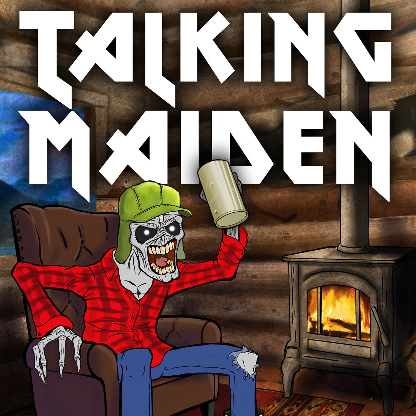 Talking Maiden : The Podcast of the Beast: Episode 107 - Piece of Mind - Part 2