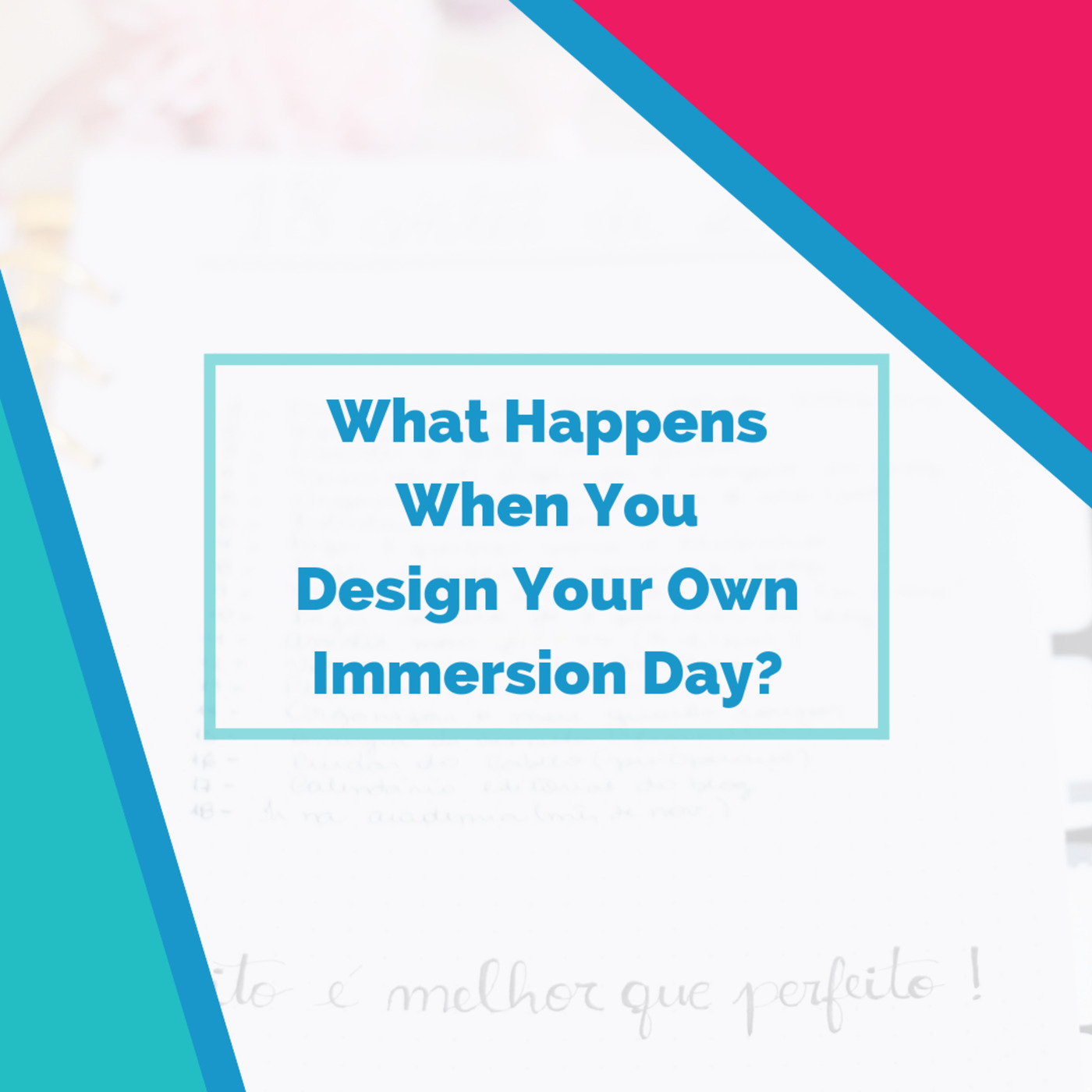 The Fluent Show: What Happens When You Design Your Own Immersion Day?