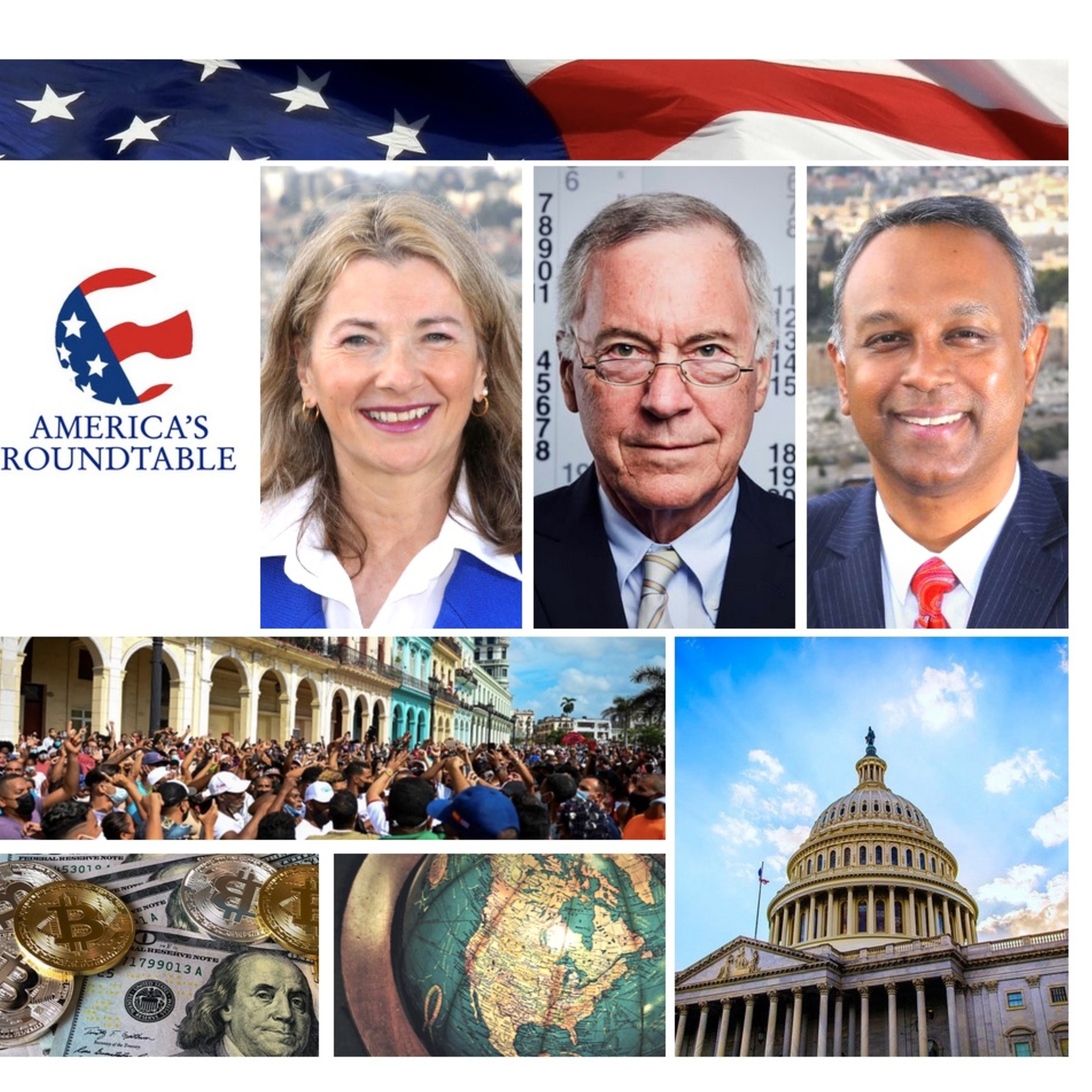 Dr. Steve Hanke   US Inflation Surge is Harbinger of What's to Come   Cuba Protests: The Impact of Socialism   Currency Boards