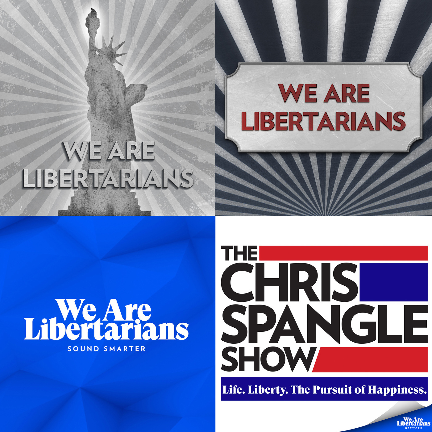 We Are Libertarians with Chris Spangle: 411: WAL Reacts - Crowder on Borders