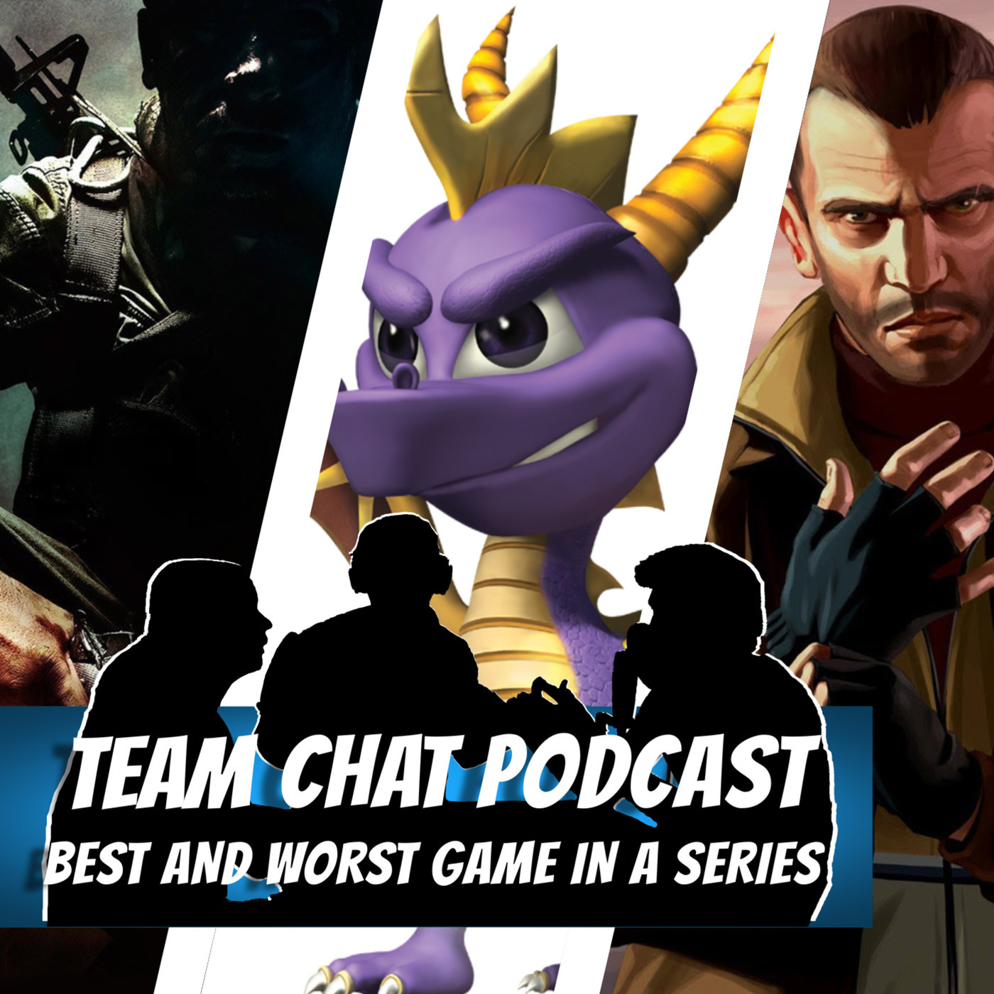 Team Chat Podcast: A Video Game Podcast: REPLAY - Best & Worst Games in a Series