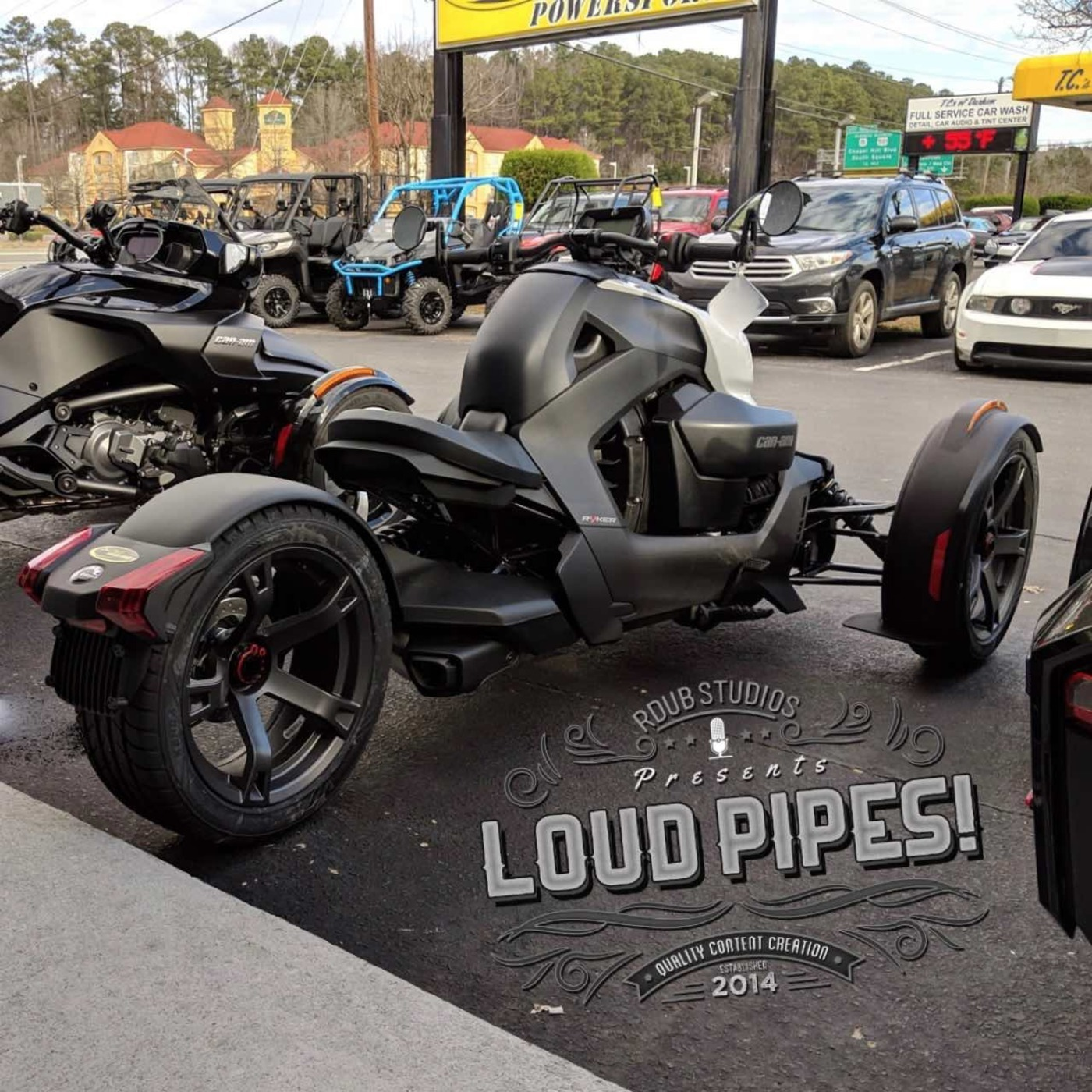 loud pipes 147 can am ryker review and more harley. Black Bedroom Furniture Sets. Home Design Ideas
